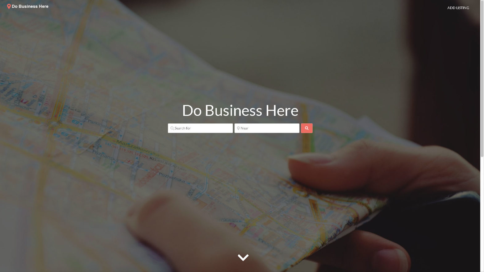 Do Business Here Home Page